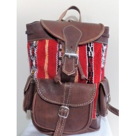 Morocco craft backpack in...