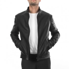 Good quality 100% handmade original natural leather jacket