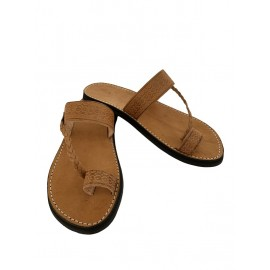 Real leather summer sandal