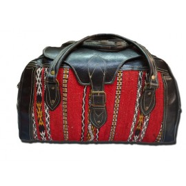 Genuine leather travel bag...