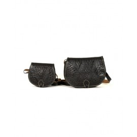 Set of two genuine Leather...