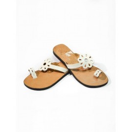 Fashion woman sandal genuine leather unique style