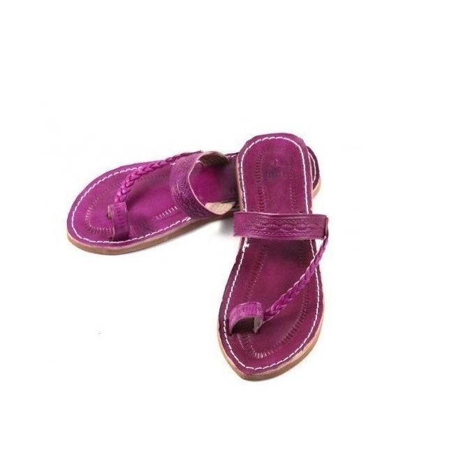 En Cuiroma Sandale En Sandale Véritable Cuir Cuir QhrCtsdx