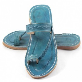 Natural leather sandal handmade with a high quality finish