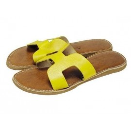 sandal natural leather...