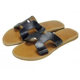 sandal natural leather fashion woman finish high range genuine leather Morocco