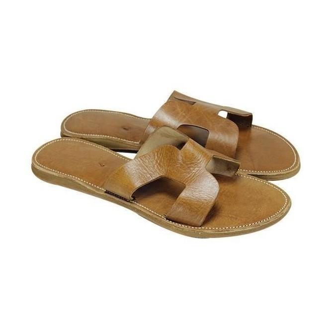 Sandale Naturel Mode Finition Haute En Véritable Cuir Femme Maroc Gamme 0OnkwP