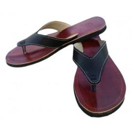 Fashion man sandal genuine leather