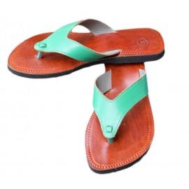 sandal natural leather fashion