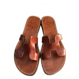 genuine leather sandal...