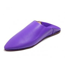 Women's leather slipper handmade by our craftsmen