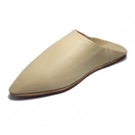 Women's leather slipper...