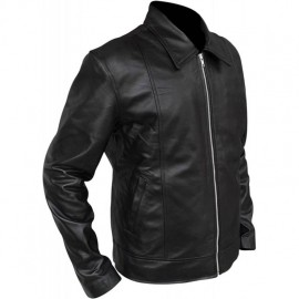 Genuine leather jacket made...