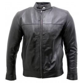 Genuine leather jacket high...