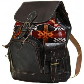 Genuine leather backpack true unique style