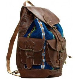 Genuine leather backpack...