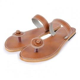 Handmade leather sandal