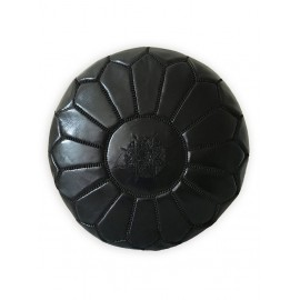 copy of Moroccan leather pouf