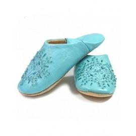 genuine leather slipper