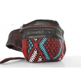 genuine leather travel belt