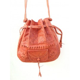 Handmade genuine leather bag