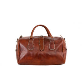 Handicraft Marrakech bag in real genuine leather