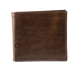 Handmade real brown leather...