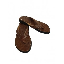 Unique leather sandal