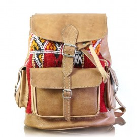 Very good quality genuine leather backpack