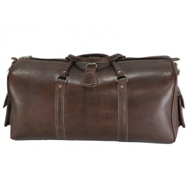 Handcrafted leather travel bag
